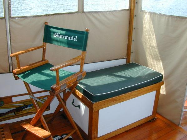 Starboard Seat, Storage Under
