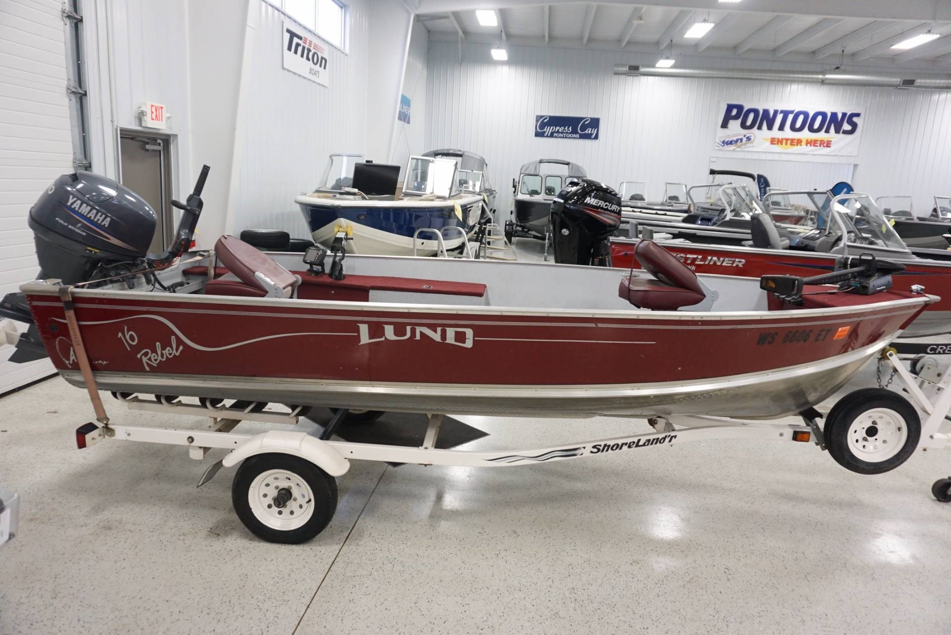 Used lund boats for sale 6 for Used lund fishing boats for sale