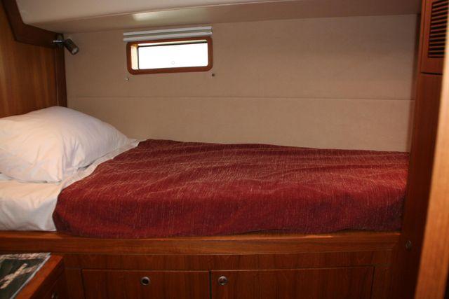 Port side cabin