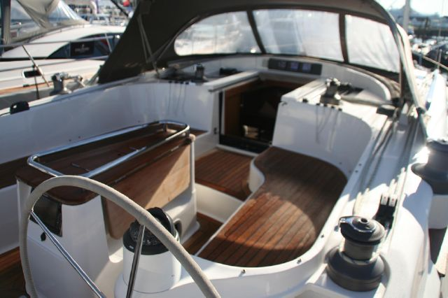 Cockpit looking forward