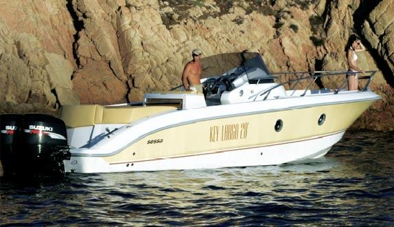 Sessa Key Largo 28 Manufacturer Provided Image: Key Largo 28