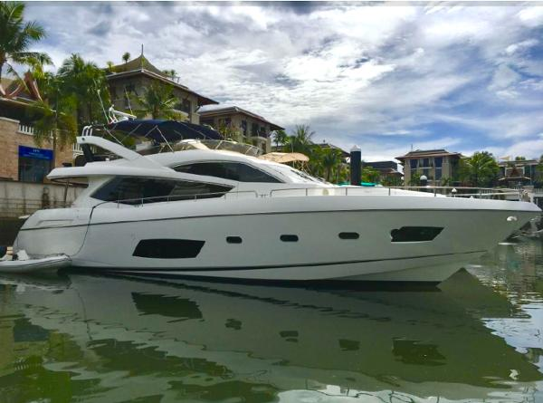 Sunseeker Manhattan 73 Sunseeker Manhattan 73 - Profile