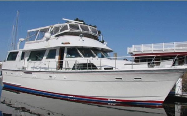 Hatteras 56 Motor Yacht USCG certified
