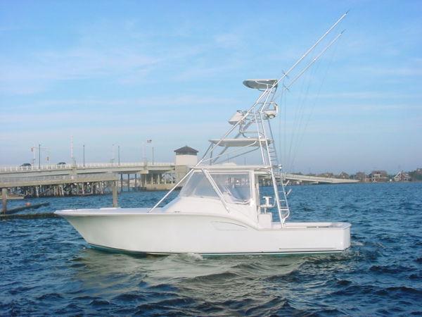 SeaTek Boat Works, LLC, siumular Cabo, Albemarle 36 Seaview Express