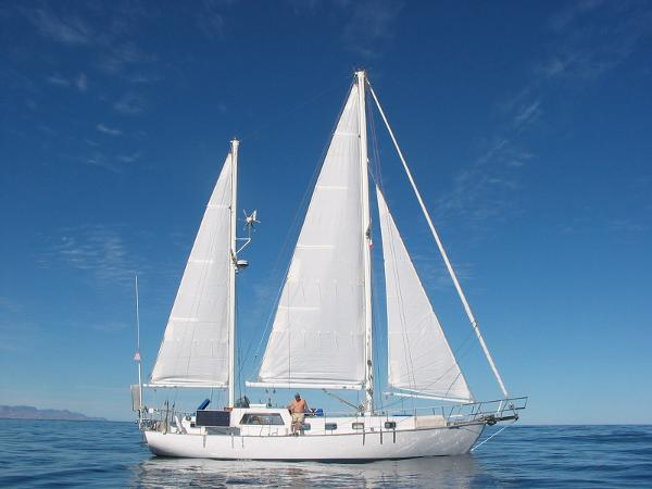 Custom C-Smoke Ferrocement Ketch Charlotte Ann