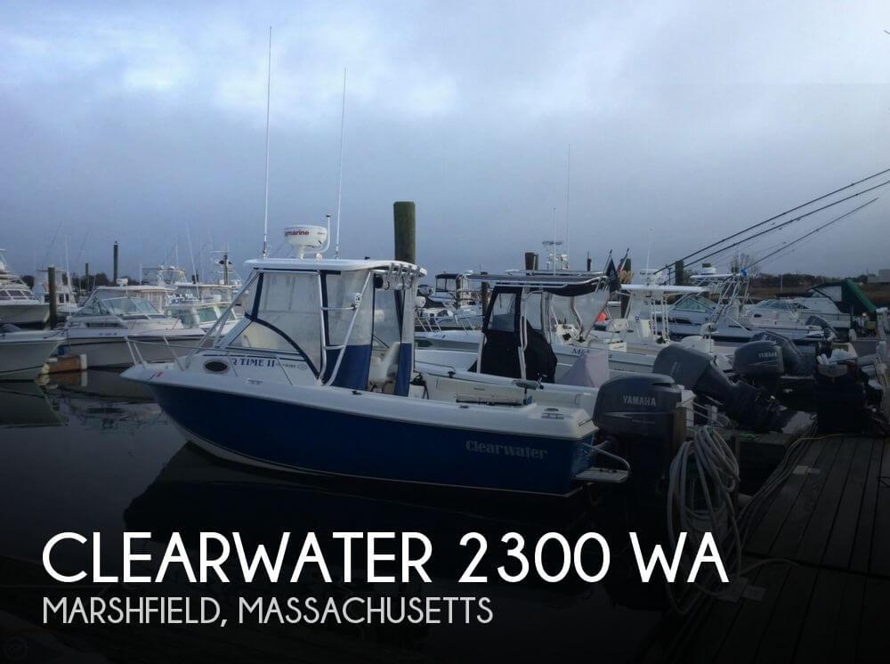 Clearwater 2300 Wa 2008 Clearwater 2300 WA for sale in Marshfield, MA