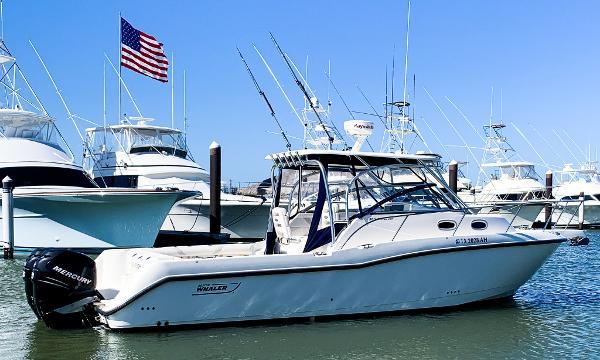 Boston Whaler 305 Conquest Profile
