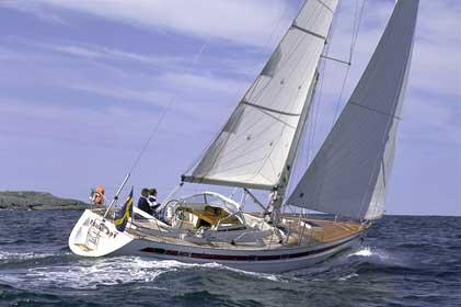 Najad 391 Manufacturer Provided Image: Cruising