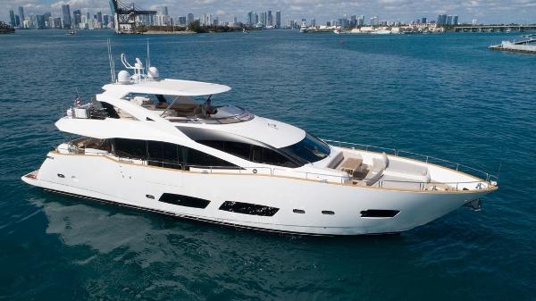 """Sunseeker 28 Metre Yacht 2016 Sunseeker 28 Metre """" Persistence"""" - Profile"""