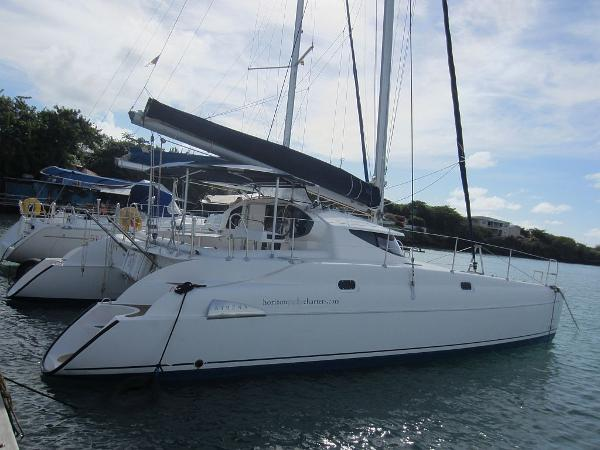 Fountaine Pajot Athena 38 Fountaine Pajot Athena 38 docked