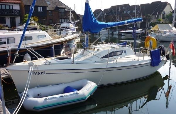 New Classic 700 On her mooring