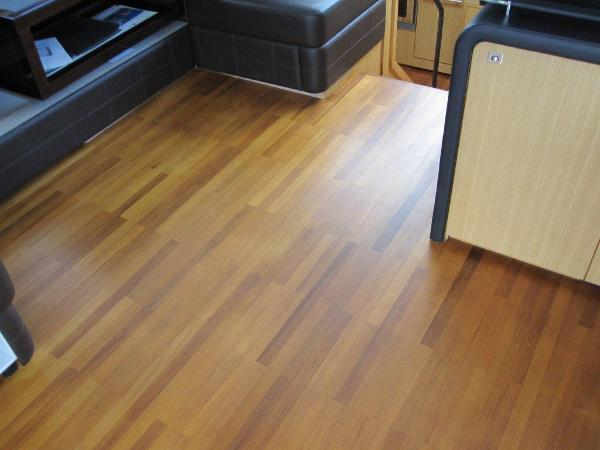 Upper Cockpit Wood Flooring