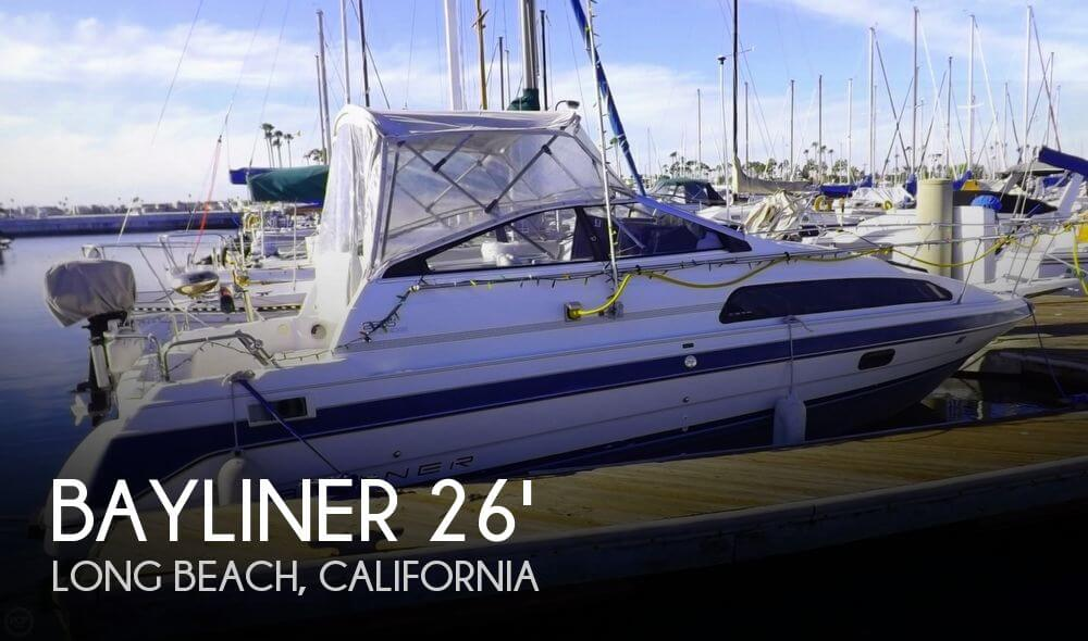 Bayliner 2655 Ciera Sunbridge 1991 Bayliner 2655 Sunbridge for sale in Long Beach, CA