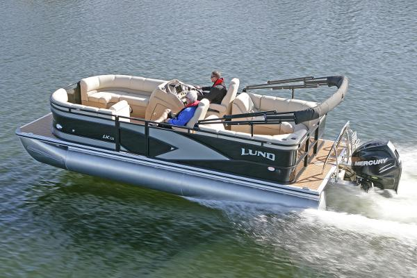 Lund LX220 Pontoon Manufacturer Provided Image
