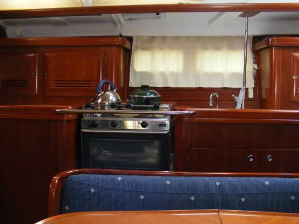 Galley viewed from dinette
