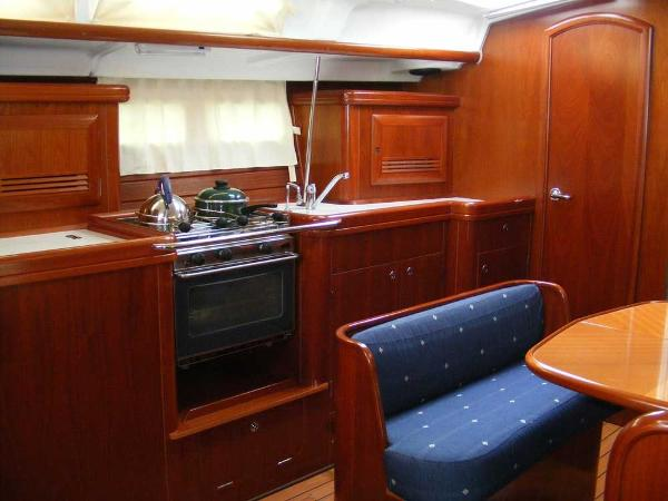 Galley viewed from Chart table