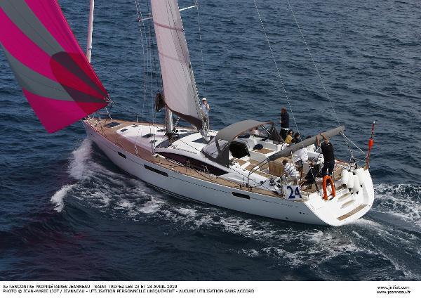 "Jeanneau 57 Under sail : JEANNEAU YACHT 57 ""LUCYLLE III"""