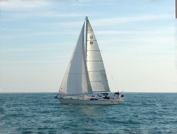 Pearson 39 Sailing