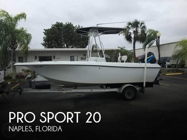 Pro Sport Boats 20 2001 Pro Sports 20 for sale in Naples, FL