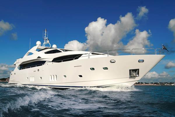 Sunseeker 34M Yacht Port Side 34 Metre Yacht