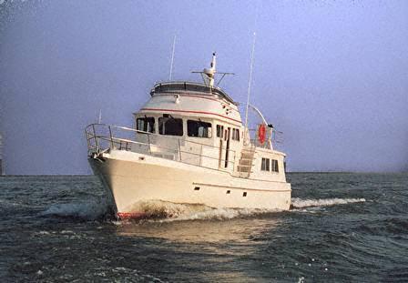 Seahorse 52 Sedan Trawler