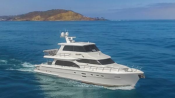 Hampton 76' Skylounge Motoryacht ODYSEA EXTERIOR