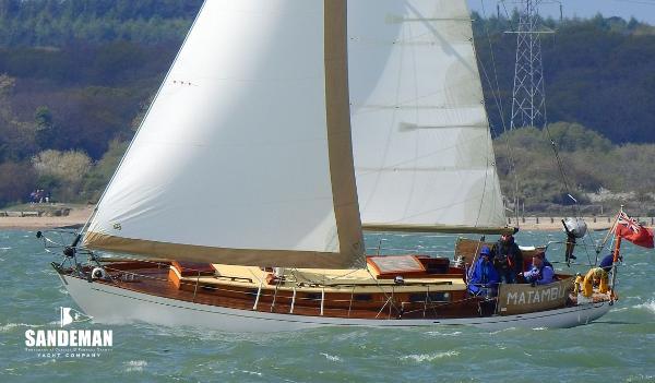Robert Clark Bermudan sloop