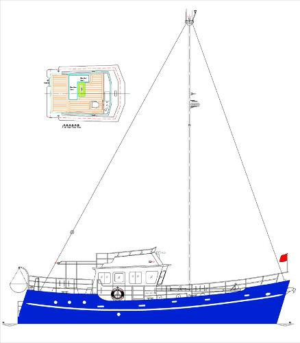DD-492, Island Bed FWD