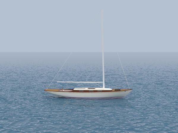 Custom-Craft Classic 55  Wooden Sloop