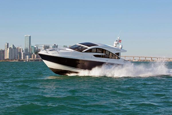 Fairline Targa 48 Gran Turismo Manufacturer Provided Image: Fairline Targa 48 Gran Turismo