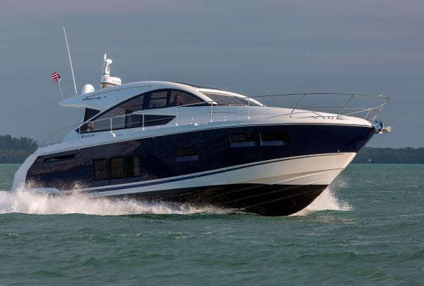 Fairline Targa 48 GT Manufacturer Provided Image: Fairline Targa 48 Gran Turismo Cruising