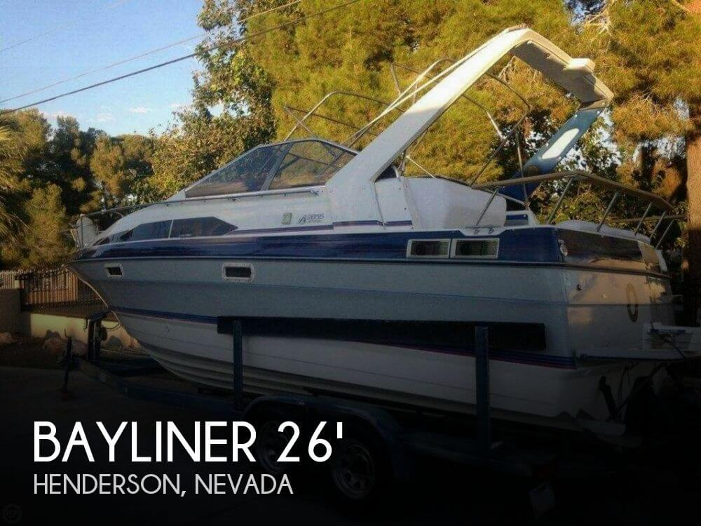 Bayliner 2655 Ciera Sunbridge 1989 Bayliner 2655 Sunbridge for sale in Henderson, NV
