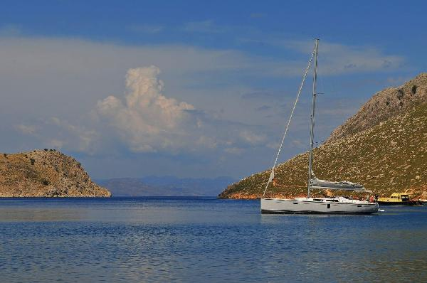 "Hanse 445 Hanse 445 ""Milashka"" - at anchor"