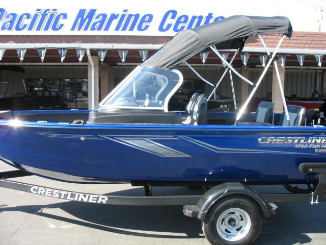 Crestliner 1750 Fish Hawk Walk-through - 115HP Mercury