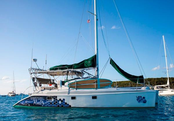 Manta 42 MkII Sail Catamaran Virtual Reality