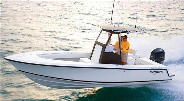 Contender Sport Fishing Boat 25 T