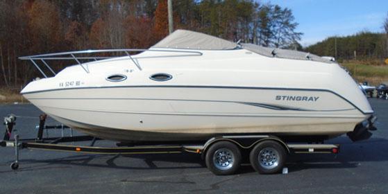 Stingray Boats 240 CS