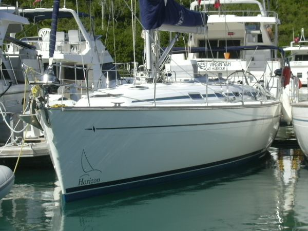 Bavaria Cruiser - excellent condition, comprehensive specifications Bavaria 49 at the dock