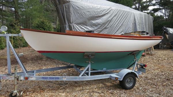 Herreshoff 12 1/2 On Trailer