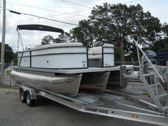 Crest Pontoon Boats Crest I 220 SLRD