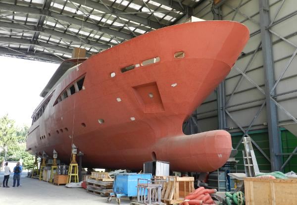 Rodriquez 40 m Fast Displacement Yacht