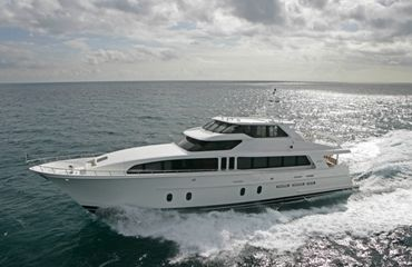 Cheoy Lee Bravo Series Sport Motor Yacht Photo 1