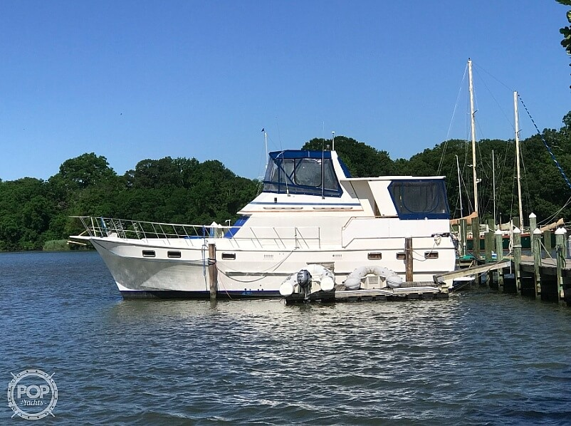Nova SUNDECK 42 1985 Nova Marine Sundeck 42 for sale in Harwood, MD