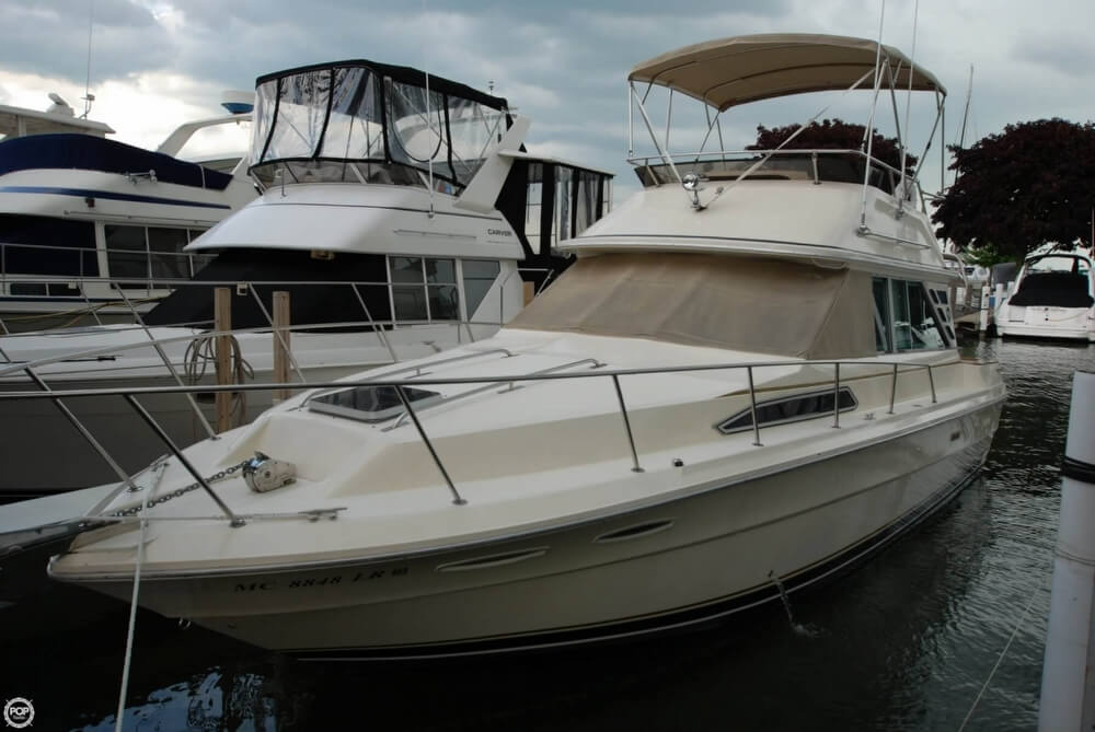 Sea Ray 340 Sedan Bridge 1984 Sea Ray 340 Sedan Bridge for sale in Harrison Township, MI
