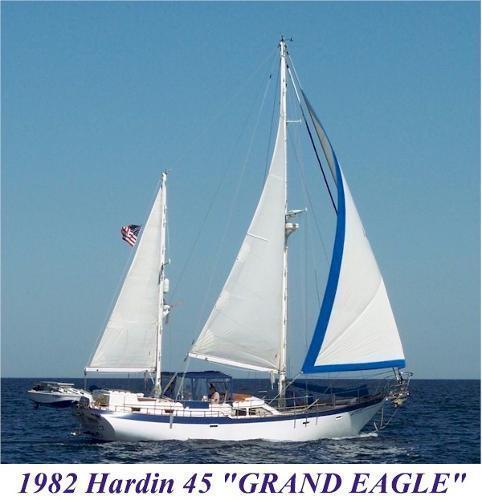 Custom Hardin 45 Staysail Ketch