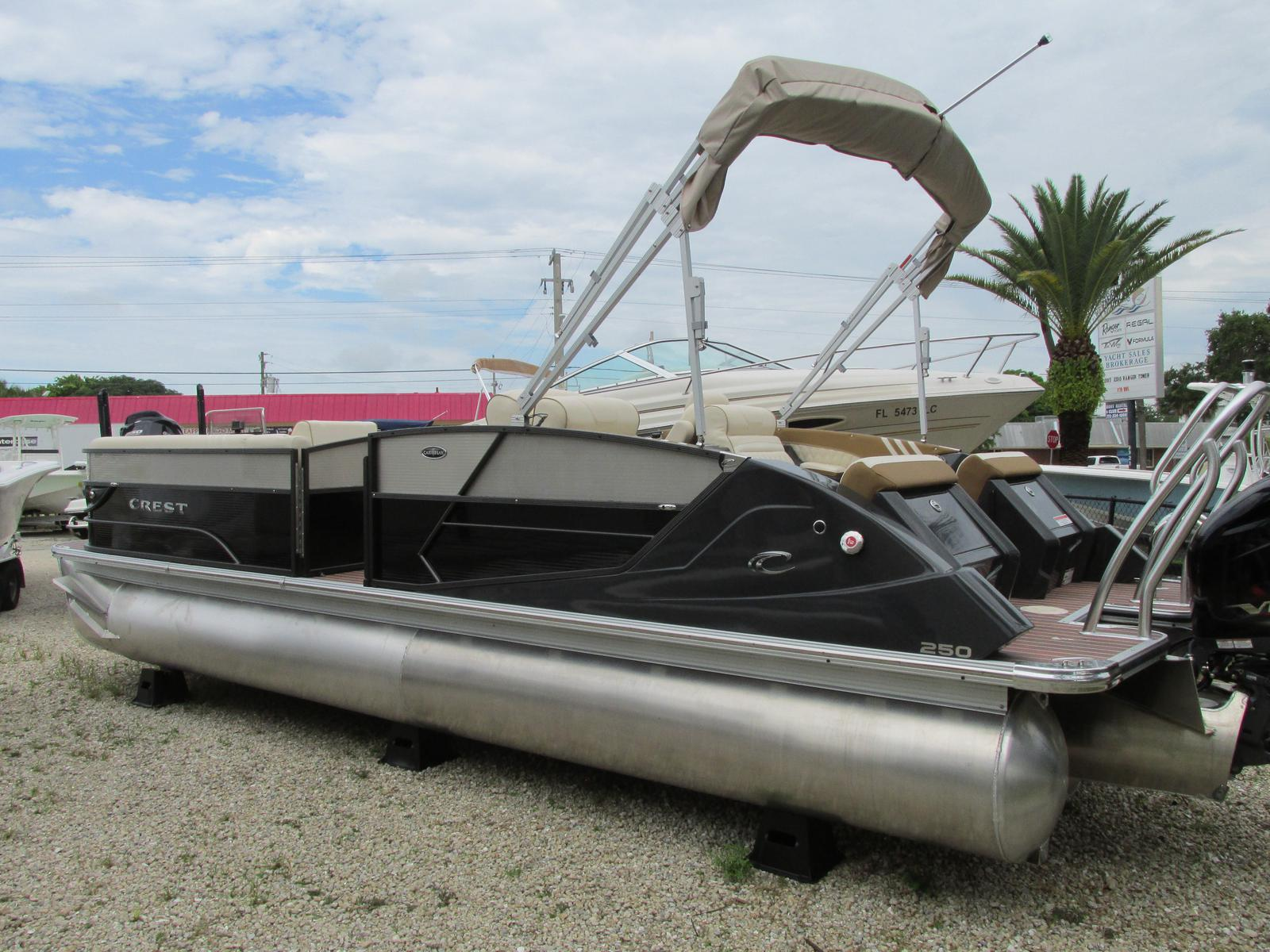 Crest Pontoon Boats CARIBBEAN 250 SLR2