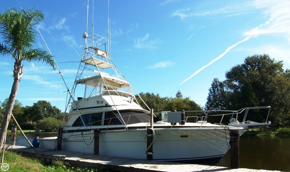 Bertram 46.6 1976 Bertram 46 Convertible Sportfish 46.6 - 466 for sale in Chauvin, LA