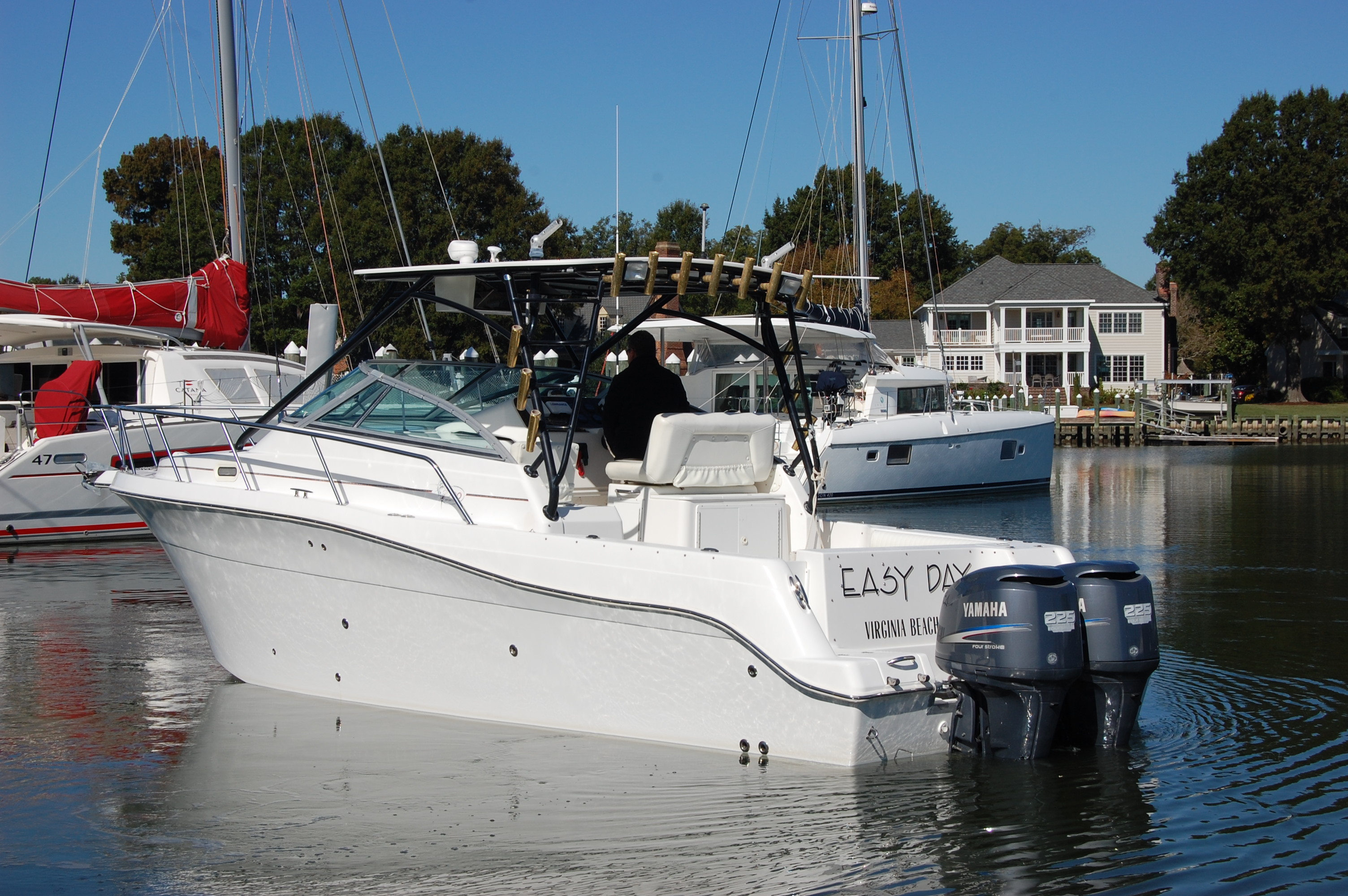 Pro Sports 3000 Sportfish 2005 ProSports 3000 Walk Around, port stern