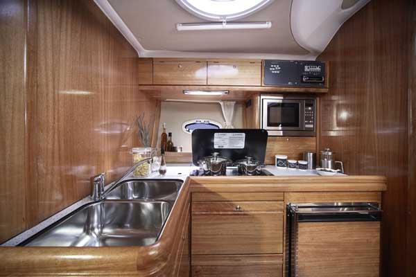 Manufacturer Provided Image: Galley