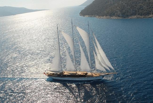 Aegean Yacht schooner yacht